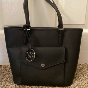 Black Canvas Michael Kors Purse